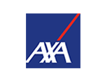 Logo of the insurance company AXA