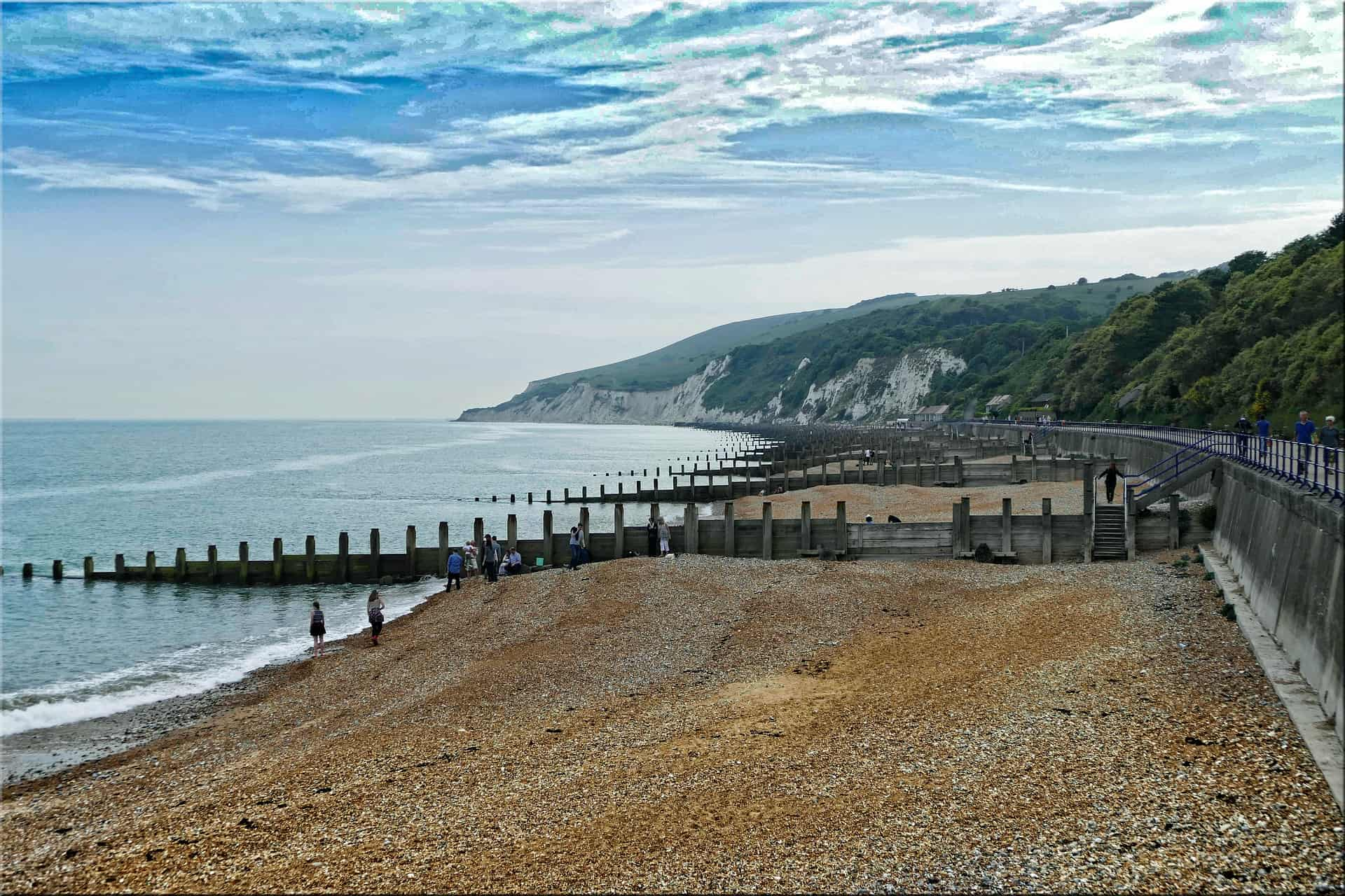 Eastbourne beach view